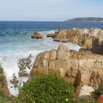 Plettenberg Bay view of Robberg